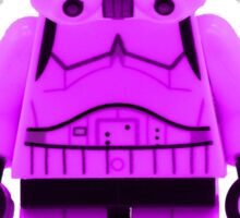 Lego Storm Trooper in Purple Sticker