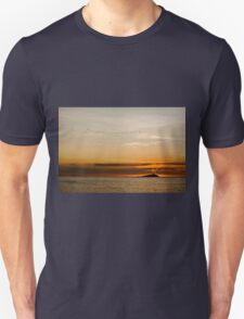 Sunset by the sea Unisex T-Shirt