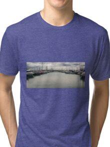 Peaceful Mooring Tri-blend T-Shirt