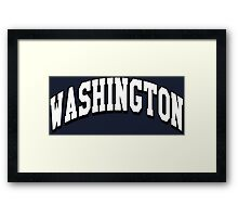 Washington Classic WA Framed Print