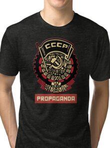 CCCP vintage propaganda Tri-blend T-Shirt