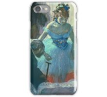 Edgar Degas - Dancer In Her Dressing Room iPhone Case/Skin