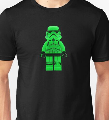 Luminous Green Lego Storm Trooper Unisex T-Shirt