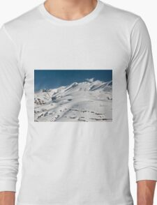 Top of the Redentore in the Sibillini Mountains Long Sleeve T-Shirt