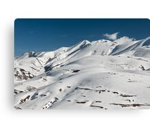 Top of the Redentore in the Sibillini Mountains Canvas Print