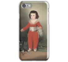 Don Manuel Osorio Manrique De Zunica iPhone Case/Skin