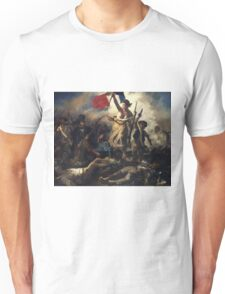 Delacroix - La Liberte Guidant Le Peuple - Freedom Unisex T-Shirt