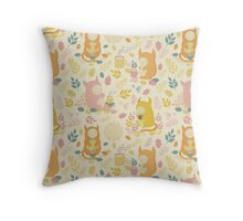 Fairytale Pattern Throw Pillow