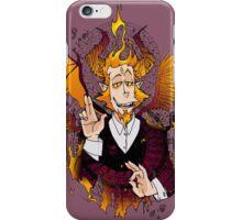 Demon Mephistopheles (Colors) iPhone Case/Skin