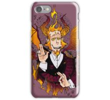 Demon Mephistopheles (Colors) iPhone Case/Skin