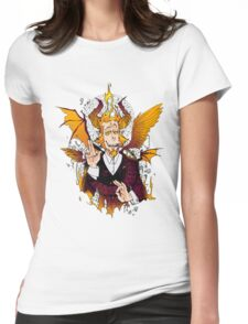 Demon Mephistopheles (Colors) Womens Fitted T-Shirt
