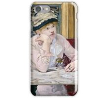 Edouard Manet - Plum Brandy ( 1877)  iPhone Case/Skin