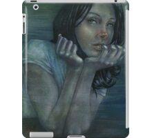 blue companion iPad Case/Skin
