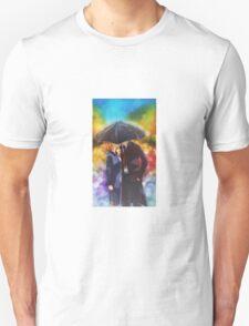 X-files Kiss in the Rain Unisex T-Shirt