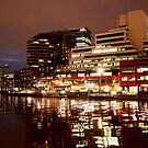 Yarra lights by Peter Krause