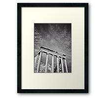Acropolis of Athens Framed Print