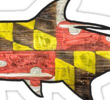 Maryland Flag Tarpon Sticker