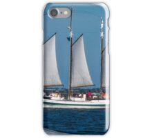 Large Sailboat in Charleston, SC Bay iPhone Case/Skin