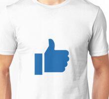 I Like Facebook Unisex T-Shirt