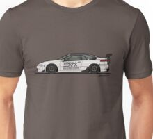 SVXNation.com's Subaru SVX Widebody Track Car Build Unisex T-Shirt