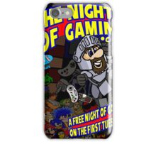 The Nights of gaming poster iPhone Case/Skin