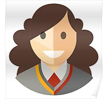 Hermione Icon Poster