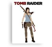 Lara Croft -  Tomb Raider Canvas Print