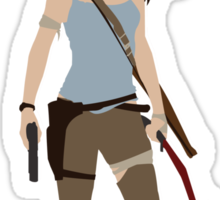 Lara Croft -  Tomb Raider Sticker
