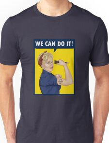 Buffy, the riveter. WE CAN DO IT Unisex T-Shirt