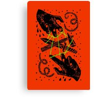 Hands to work Canvas Print