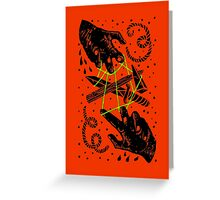 Hands to work Greeting Card