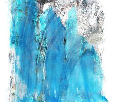 Modern Abstract Art - Blue Essence - Sharon Cummings by Sharon Cummings