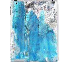 Modern Abstract Art - Blue Essence - Sharon Cummings iPad Case/Skin