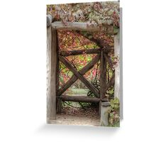 Gazebo Creeper Greeting Card