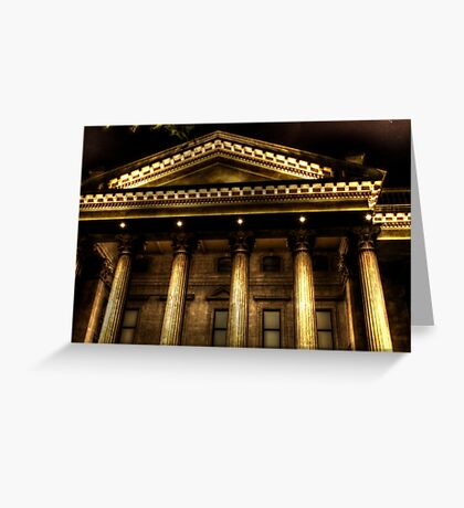 A Capital Night Greeting Card