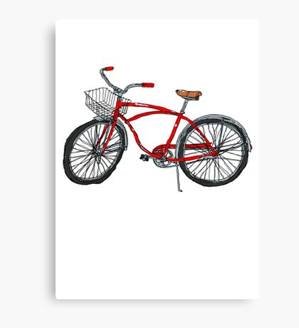 Vintage Pedal Power Canvas Print