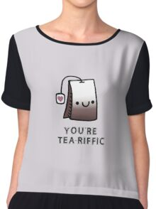 You'r Tea-Riffic Chiffon Top