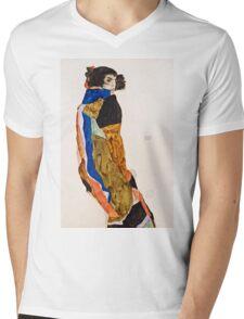Egon Schiele - Moa (1911)  Mens V-Neck T-Shirt