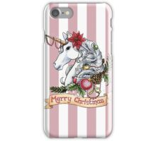 Christmas Unicorn iPhone Case/Skin