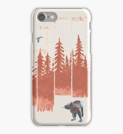 A Bear in the Wild... iPhone Case/Skin