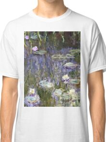 Claude Monet - Water Lilies (1922)  Classic T-Shirt