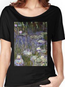 Claude Monet - Water Lilies (1922)  Women's Relaxed Fit T-Shirt