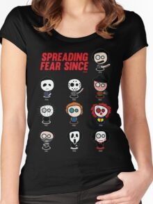 Spooky Classics Women's Fitted Scoop T-Shirt