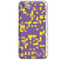 2. Falling Squares of Tetris iPhone Case/Skin
