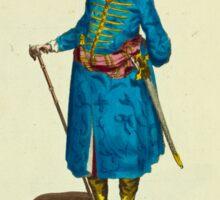 Habit of a Persian gentleman in 1700 Persien 221 Sticker