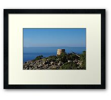Lookout Tower - Vigli Framed Print