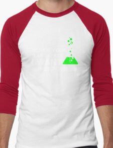 Funny Lab Safety Science Geek Humor T-shirt Men's Baseball ¾ T-Shirt
