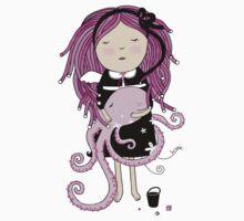 Octavia and Octopus Baby Tee