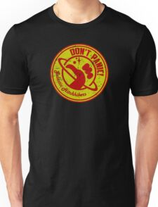 Galactic Hitchhikers Red and Gold Unisex T-Shirt