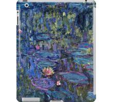 Claude Monet - Nympheas (1914 - 1917)  iPad Case/Skin